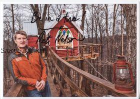 Автограф: Пит Нельсон. Дома на деревьях / Treehouse Masters