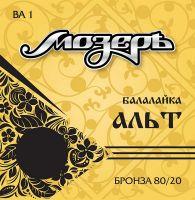 МОЗЕРЪ BА1 Струны для балалайки Альт