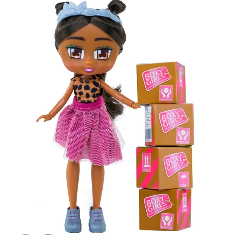 Кукла Boxy Girls с аксессуарами Номи