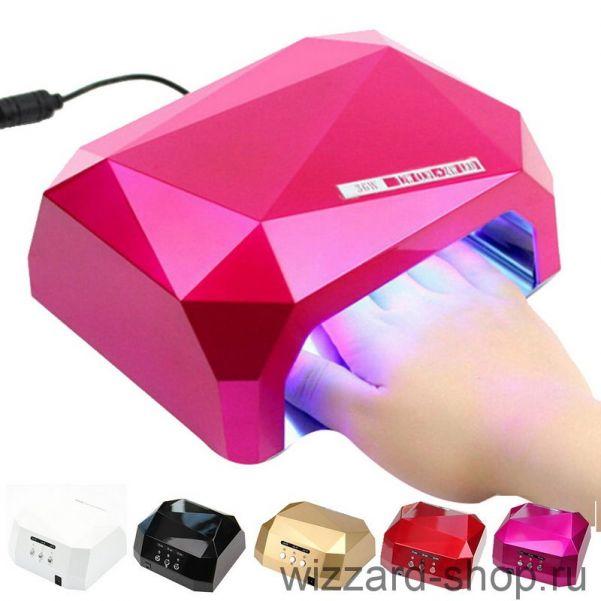 Лампа для сушки гель-лаков Diamond CCFL/LED 36W