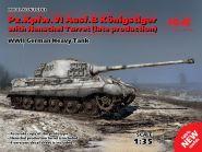 """Pz.Kpfw.VI Ausf.B """"Королевский Тигр"""" с башней Хеншель (позднего производства), Германский тяжелый та"""