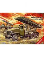 БМ 13-16, система залпового огня