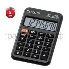 Калькулятор Citizen LC-110 8р