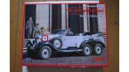 Германский автомобиль G4 (1939) с пассажирами
