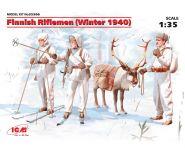 Фигуры Финские пехотинцы (зима 1940 г.)