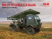 БМ-13-16 на шасси W.O.T. 8, Советская РСЗО II МВ