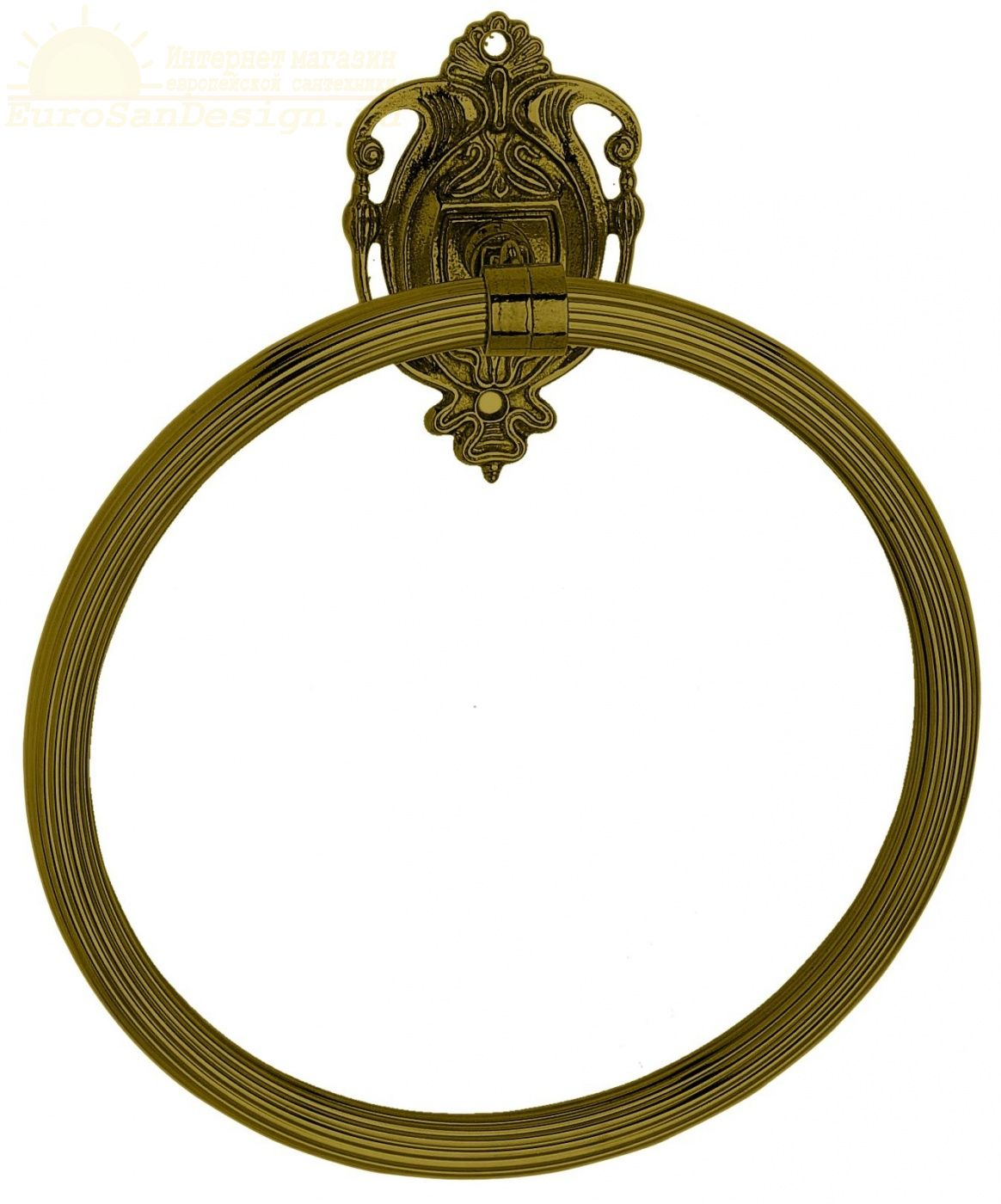 Полотенцедержатель кольцо Art&Max Impero AM-1231-Вr ФОТО