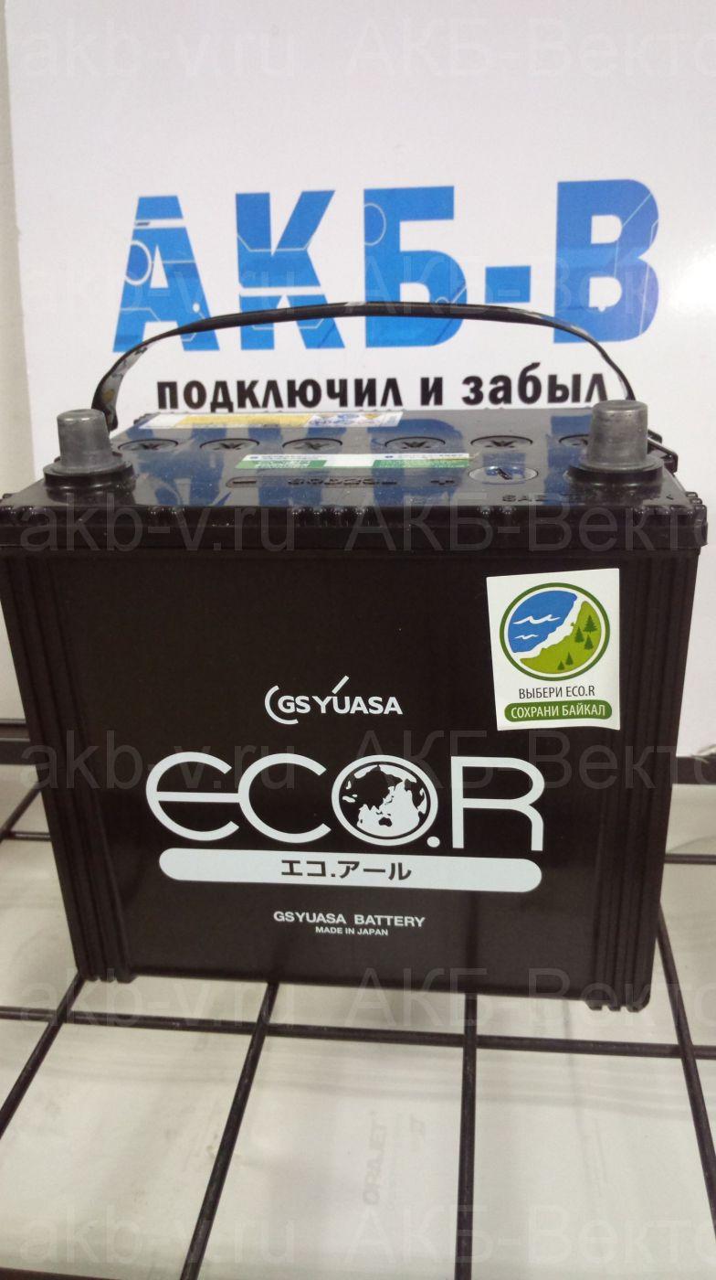 YUASA ECO.R EC 60D23 60Ач 450А(CCA) без нижнего крепления.