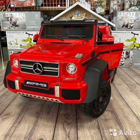 Mercedes benz G63 AMG 6 колёсный А006аа