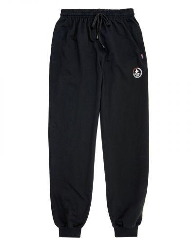 Спортивные брюки-джоггеры черные
