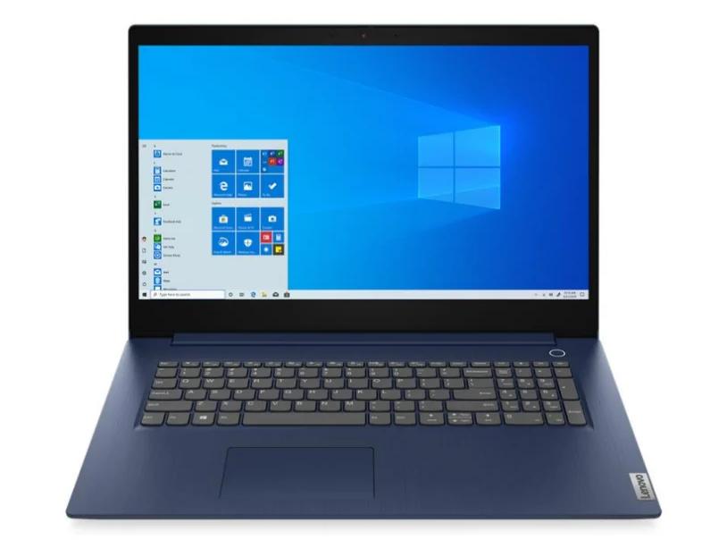 "Ноутбук LENOVO IdeaPad 3-17IML05 (81WC000GRU) (PDC 6405U/4Gb/SSD 256Gb/Intel UHD Graphics/17,3"" HD+ BT Cam 3900мАч/Win 10) Синий"