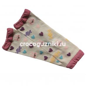 Гетры детские Animal Kids (one size/ 0-3 г) Зайка