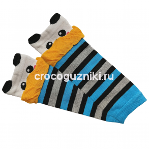 Гетры детские Animal Kids (one size/ 0-3 г) Панда
