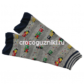 Гетры детские Animal Kids (one size/ 0-3 г) Паровозы