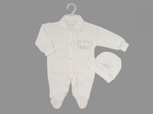 Комплект для новорожденного: шапка, комбинезон dFC-KS205-ITpk(b)