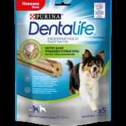 Purina DentaLife Лакомство для собак средних пород, 115 г