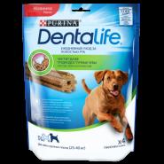 Purina DentaLife Лакомство для собак крупных пород, 142 г