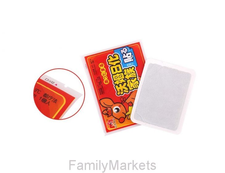 Разогревающий детский пластырь 12х9 см