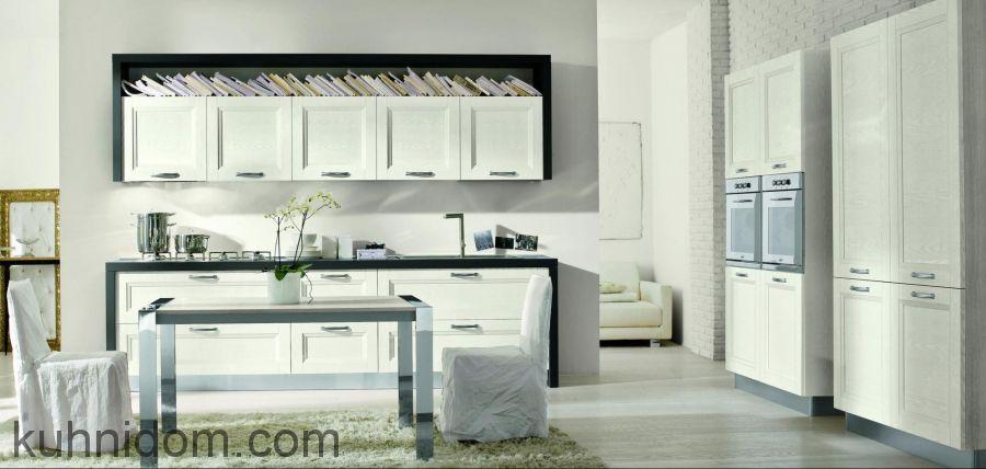 Кухня Альба Бьянко с колонками