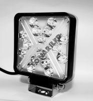 Светодиодная фара FRY34-102W flood белый-желтый свет, противотуманный