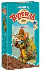 ЗООМИР ТОРТИЛА-М Гранулы  для водяных черепах,  90г