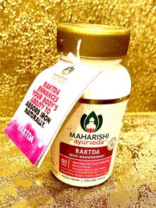 Рактда (Raktda) - формирование и очистка крови, увеличение белкового анаболизма, 60 таб