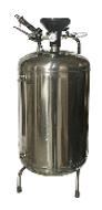Пеногенераторы TOR  Бак из нержавеющей стали. Объем бака - 100 л; максимальное рабочее давление - 8 бар