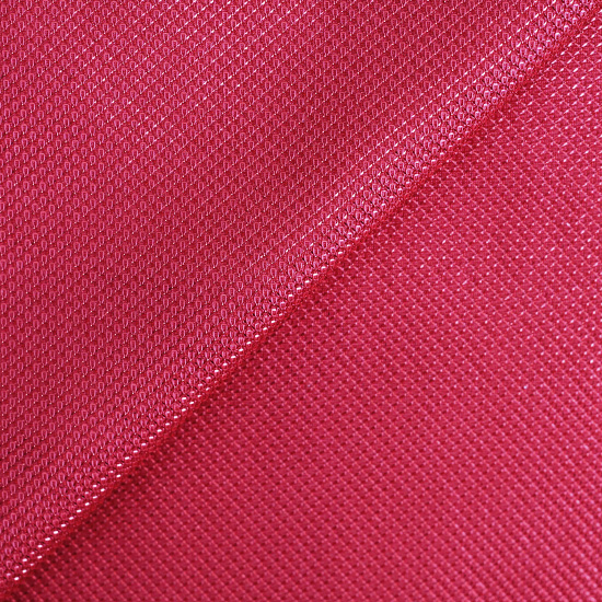 Лоскут трикотажной ткани с люрексом Красный 50х37