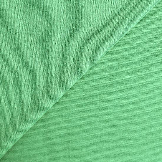 Лоскут трикотажной ткани Ярко-зеленый 50х30