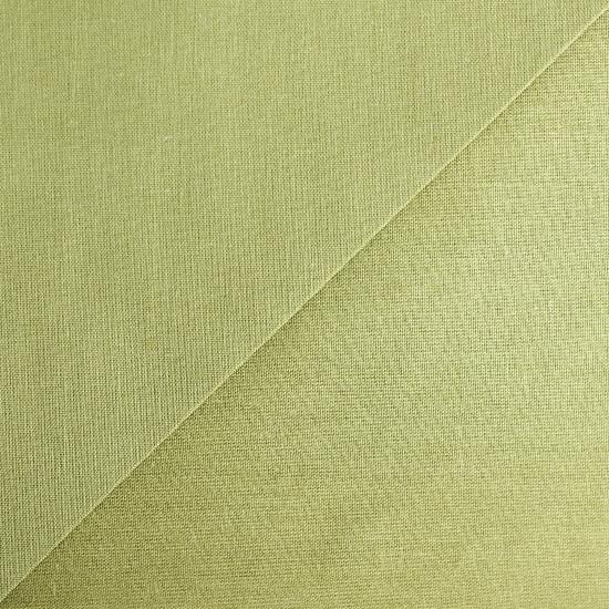 Хлопок фактурный однотонный Осенне-зеленый 50х40