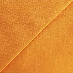 Хлопок однотонный цвет Манго 50х40