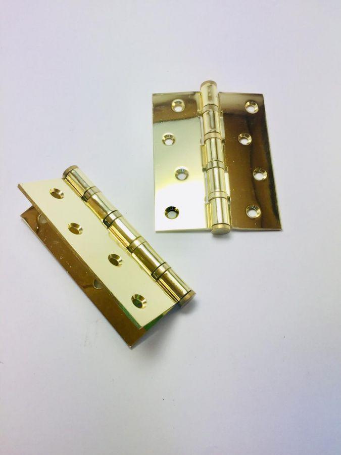 Петля универсальные 100х2,5 мм, Monte Bello, матовое золото