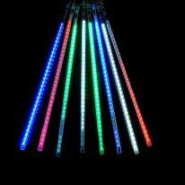 Светодиодная гирлянда Тающие сосульки, 8 шт.,разноцветный , 50 см.