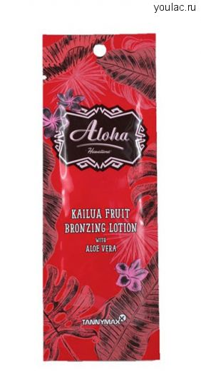 ALOHA - Kailua Fruit Bronzing Lotion с бронзаторами (15 мл)