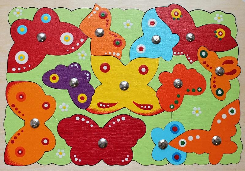 "Магнитная мозаика ""Бабочки"""