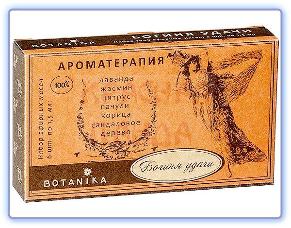 Botavikos Набор Богиня удачи 100% эфирных масел