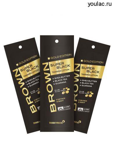 SUPER BLACK GOLD EDITION крем-ускоритель для загара со slimming-эффектом 15 мл