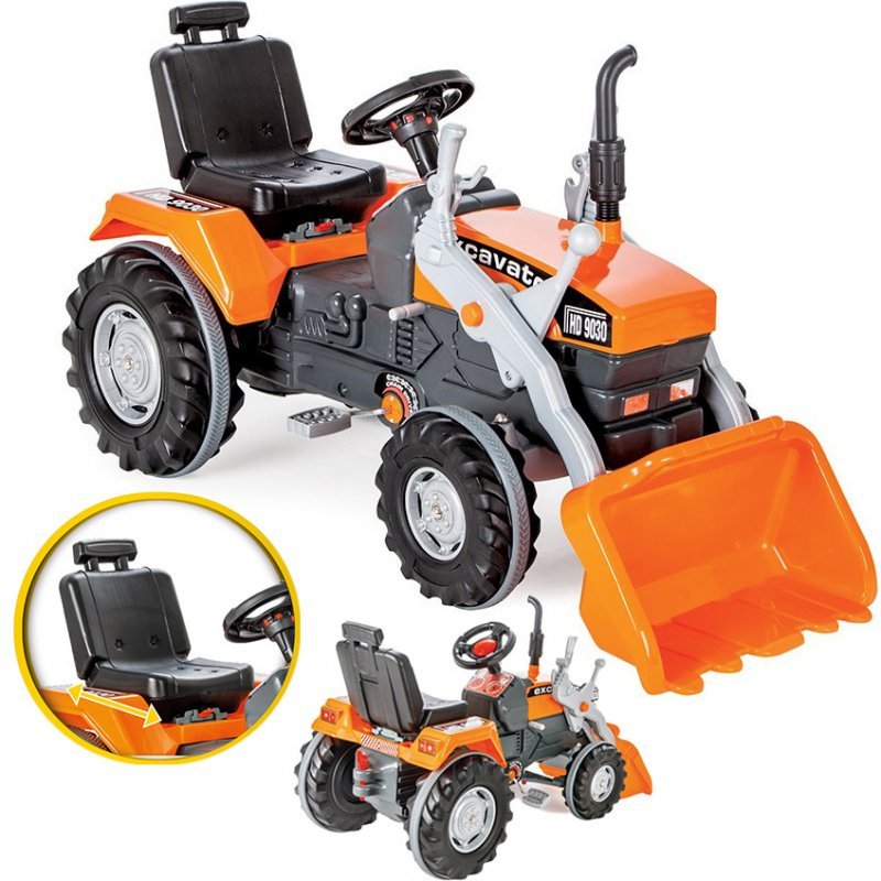 Трактор педальный WOOPIE 28408