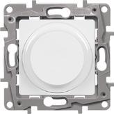 Светорегулятор поворотный, 300Вт, белый - Legrand Etika