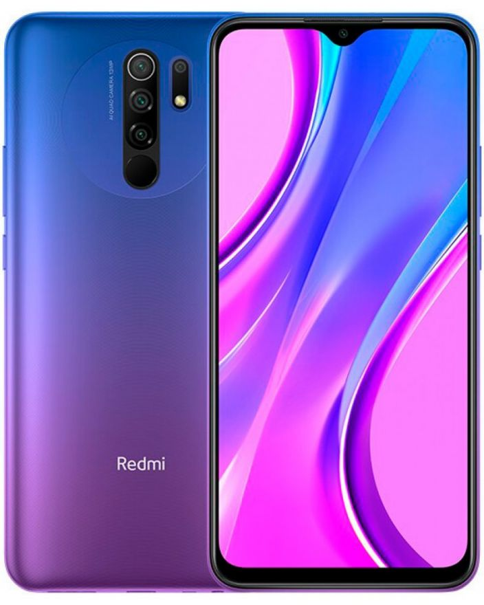 Смартфон Xiaomi Redmi 9 4/64GB (NFC) Purple
