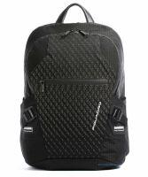 Рюкзак мужской с двумя отделениями Piquadro CA5151PQY/N черный