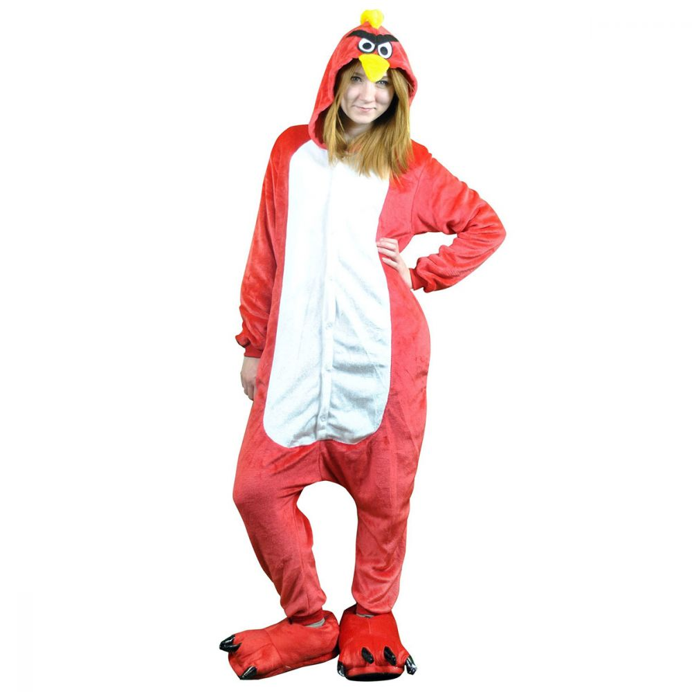 Пижама Кигуруми Красная Птица