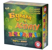 Настольная игра Активити и Тик Так Бумм Вечеринка (новый дизайн)