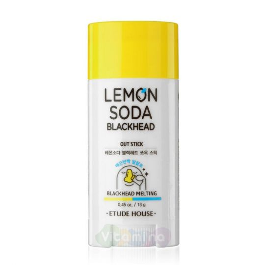 Etude House Очищающий стик Lemon Soda Blackhead Out Stick