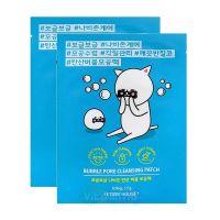 Etude House Пузырьковая маска для очищения кожи носа Bubble Pore Cleasing Patch
