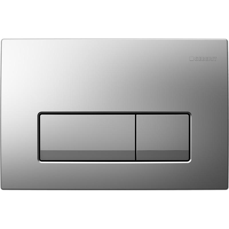Кнопка смыва GEBERIT 115.105.46.1 Delta 51 пластик (хром мат)