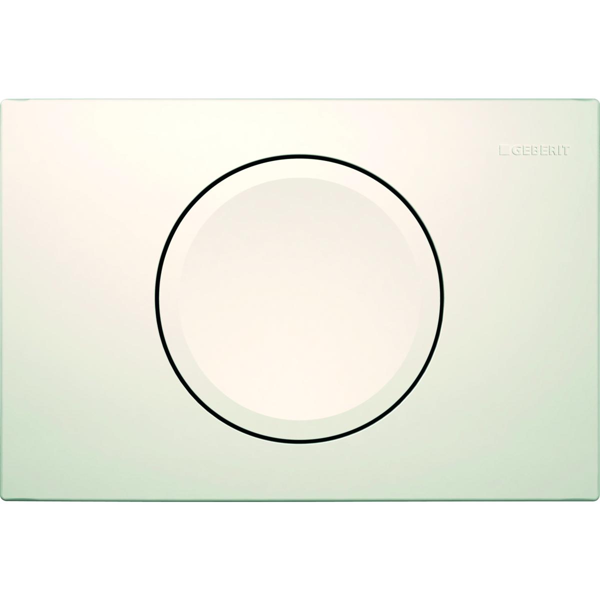 Кнопка смыва GEBERIT 115.120.11.1 Delta 11 (пластик/белый)