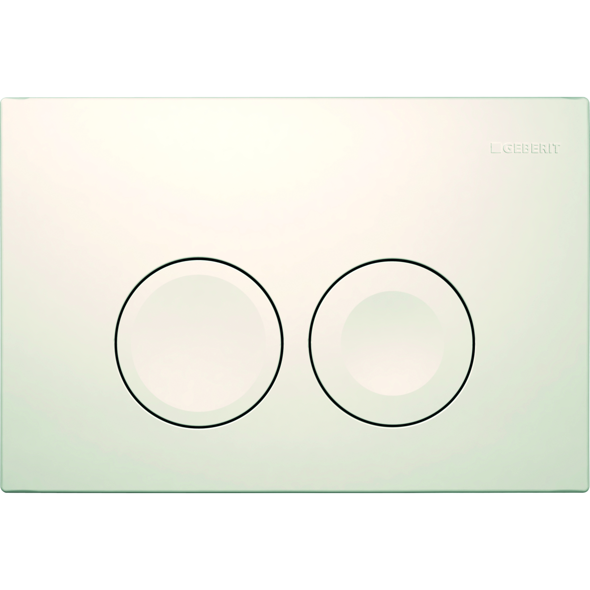Кнопка смыва GEBERIT 115.125.11.1 Delta 21 (пластик/бел)