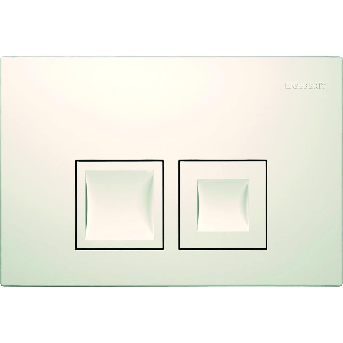 Кнопка смыва GEBERIT 115.135.11.1 Delta 50 пластик (бел)