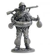 Боец РККА в плавательном костюме МПК. 1939-43 гг. СССР (олово)